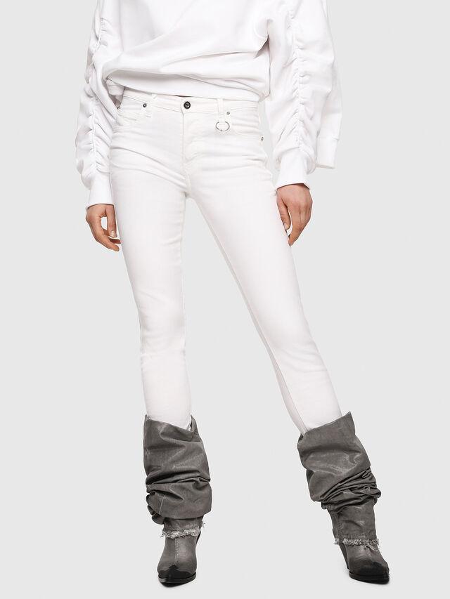 Diesel - Babhila 086AS, Bianco - Jeans - Image 1