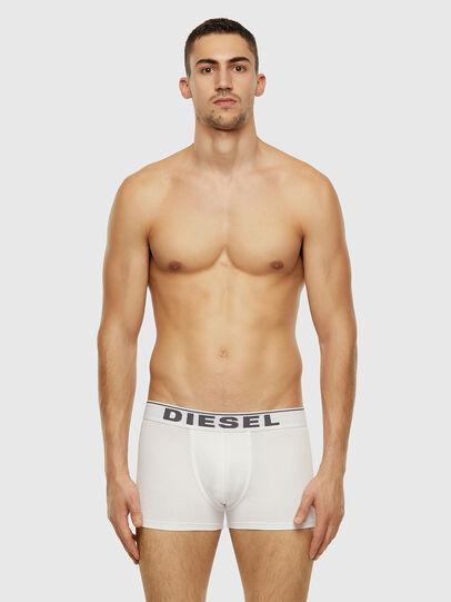 Diesel - UMBX-DAMIEN, Bianco - Boxer stretch - Image 1
