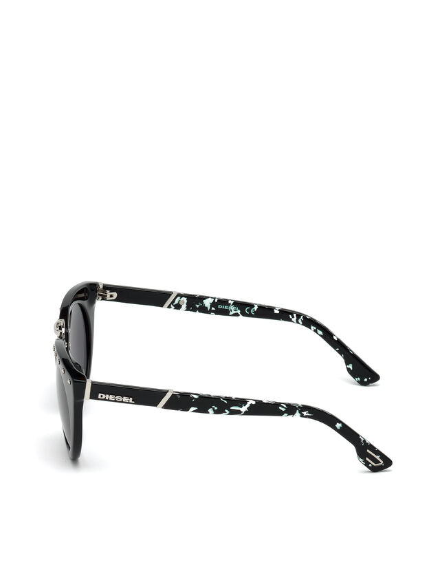 Diesel - DL0211, Nero - Occhiali da sole - Image 3