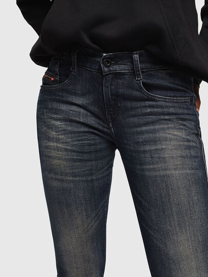 Diesel - D-Ebbey 069FX, Blu Scuro - Jeans - Image 3