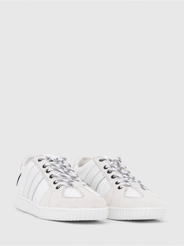 Diesel - S-MILLENIUM LC, Bianco/Rosa - Sneakers - Image 2