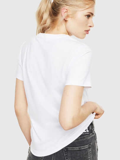 Diesel - T-SILY-WMA, Bianco - T-Shirts - Image 2