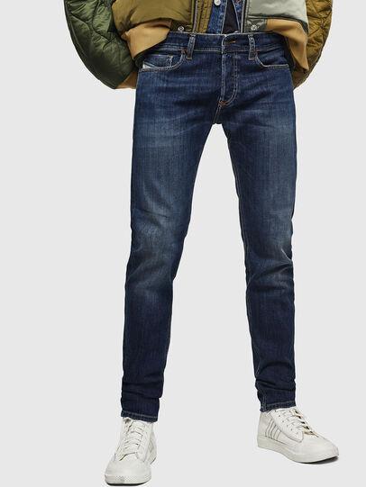 Diesel - Sleenker 083AV, Blu Scuro - Jeans - Image 1