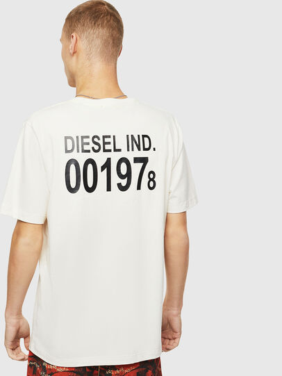 Diesel - T-JUST-VINT, Bianco - T-Shirts - Image 2