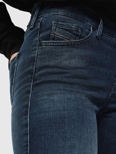 Diesel - Slandy 084UT, Blu Scuro - Jeans - Image 3
