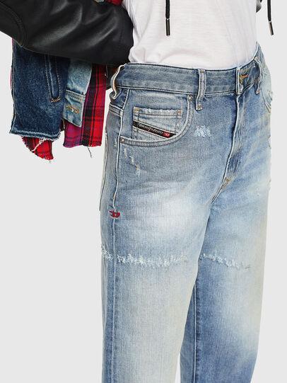 Diesel - D-Reggy 0098V, Blu Chiaro - Jeans - Image 3