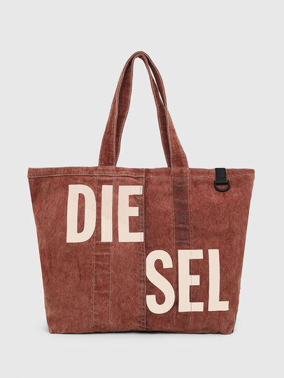 Diesel - GRANYTO SHOPPER M, Arancione - Shopper e Borse a Spalla - Image 1