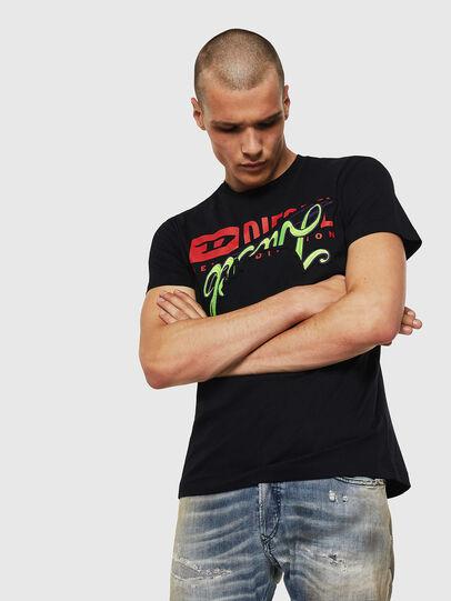 Diesel - T-DIEGO-BX1, Nero - T-Shirts - Image 1