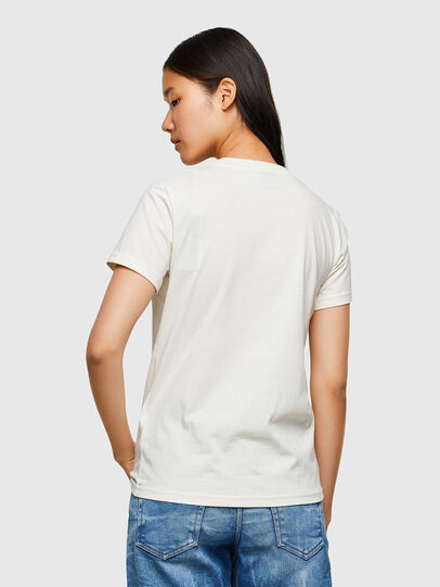 Diesel - T-SILY-R4, Bianco - T-Shirts - Image 2