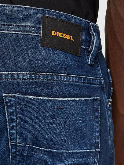 Diesel - Thommer 009JE, Blu Scuro - Jeans - Image 4