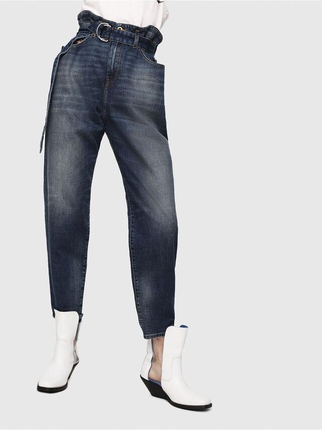 Diesel - D-Vizons 089AR, Blu Scuro - Jeans - Image 1