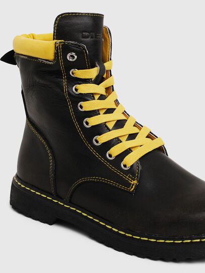 Diesel - HB LACE UP 04 CH, Nero - Scarpe - Image 4