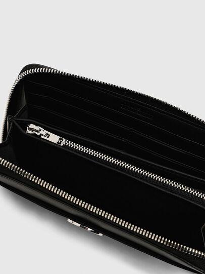 Diesel - GRANATO LC, Nero - Portafogli Con Zip - Image 5