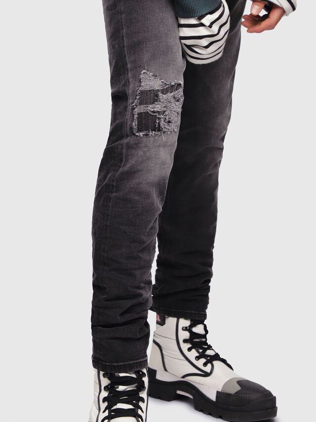 Diesel - Tepphar 069DW, Nero/Grigio scuro - Jeans - Image 3
