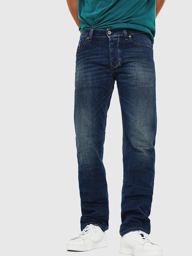 Diesel - Larkee 087AW, Blu Scuro - Jeans - Image 1