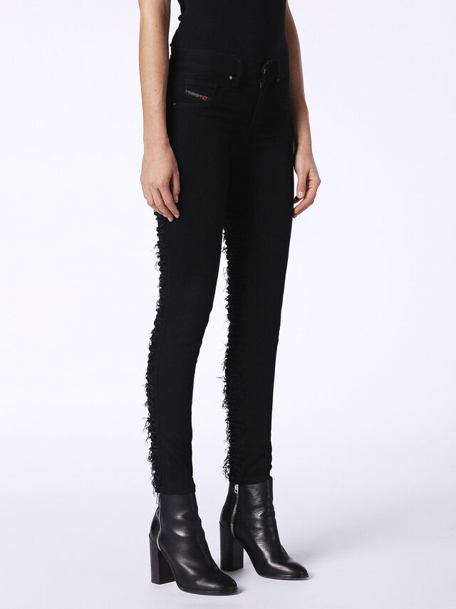 DHARY-DT 0686M, Nero Jeans