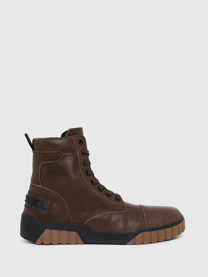 Diesel - H-RUA AM, Marrone - Sneakers - Image 1