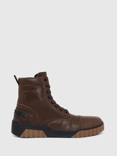 Diesel - H-RUA AM, Marrone - Sneakers - Image 1