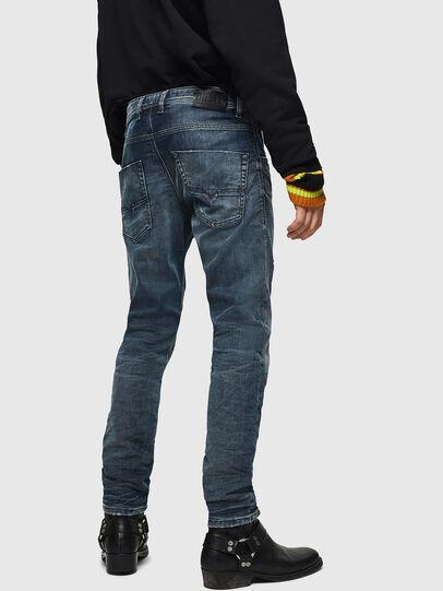 Diesel - Krooley JoggJeans 0870W, Blu medio - Jeans - Image 2