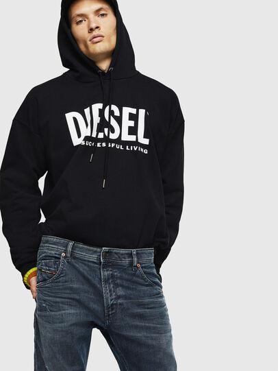 Diesel - Krooley JoggJeans 0870W, Blu medio - Jeans - Image 4