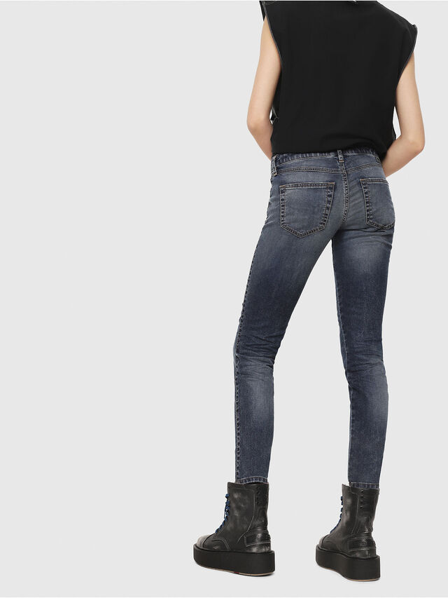 Diesel - Gracey JoggJeans 069FG, Blu Scuro - Jeans - Image 2
