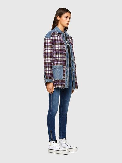 Diesel - Slandy Low 009FE, Blu Scuro - Jeans - Image 6