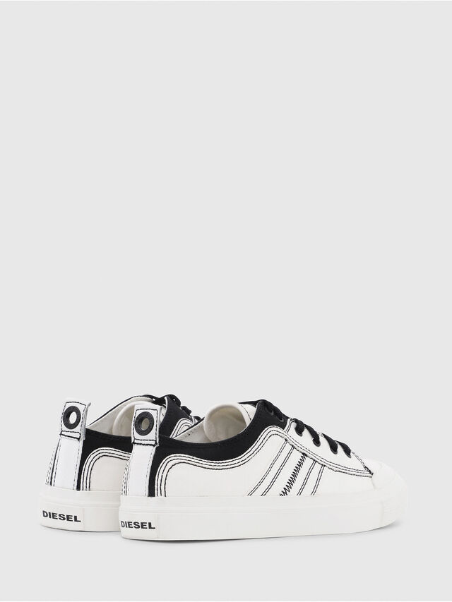 Diesel - S-ASTICO LOW LACE, Bianco/Nero - Sneakers - Image 3