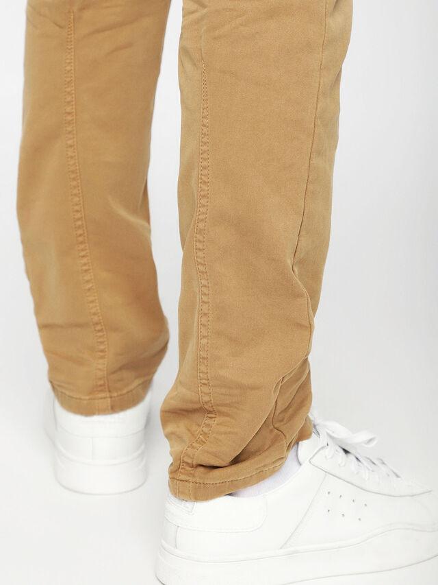 Diesel - Krooley JoggJeans 0670M, Cammello - Jeans - Image 5