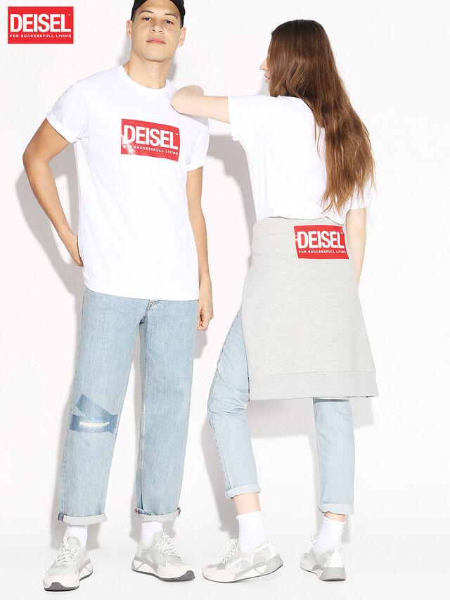 Diesel - DEIS-JUST, Bianco - T-Shirts - Image 1