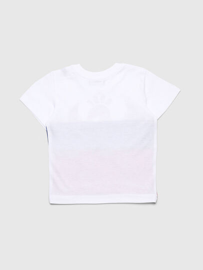 Diesel - TRICKYB, Bianco/Rosso/Blu - T-shirts e Tops - Image 2