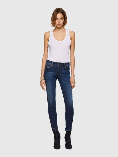 Diesel - D-Jevel 09A30, Blu Scuro - Jeans - Image 6