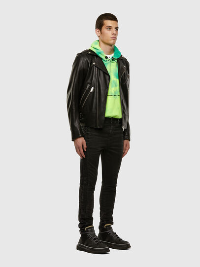 Diesel - D-REEFT JoggJeans® 009FY, Nero/Grigio scuro - Jeans - Image 7