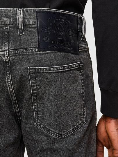 Diesel - D-Vider 009QZ, Nero/Grigio scuro - Jeans - Image 4