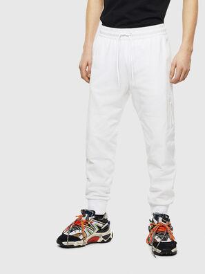 P-ORTEX, Bianco - Pantaloni