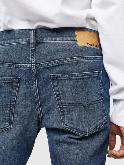 Diesel - D-Luster 0095H, Blu medio - Jeans - Image 4