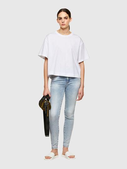 Diesel - Slandy High 009TG, Blu Chiaro - Jeans - Image 5