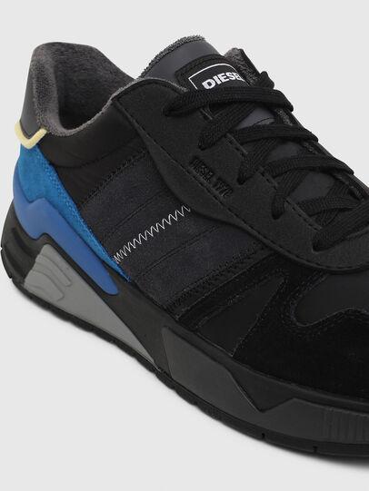 Diesel - S-BRENTHA FLOW, Nero/Blu - Sneakers - Image 4