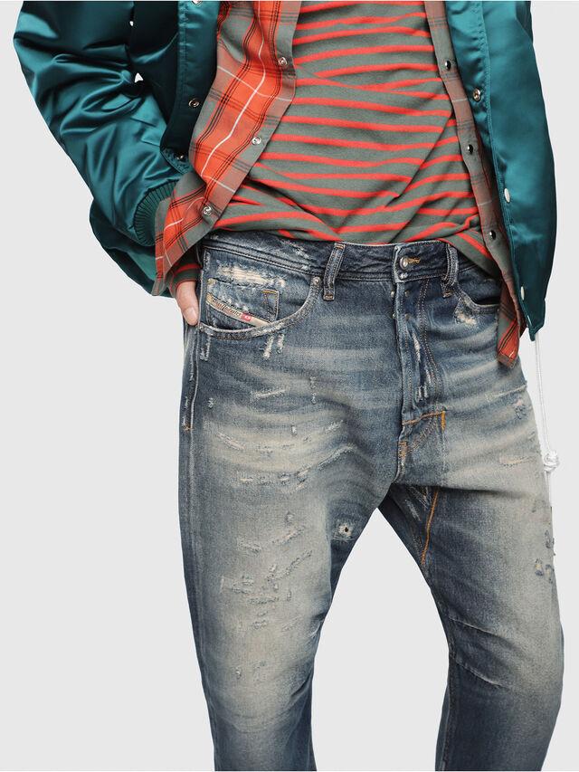 Diesel - Narrot 088AQ, Blu Scuro - Jeans - Image 3
