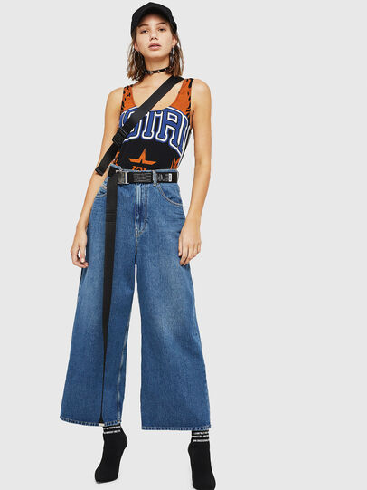 Diesel - D-Luite 080AN, Blu medio - Jeans - Image 6