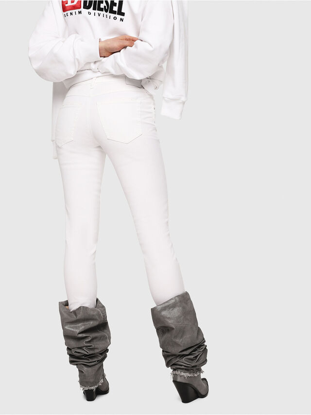 Diesel - Babhila 086AS, Bianco - Jeans - Image 2