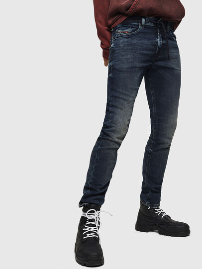 Diesel - Thommer JoggJeans 069GD, Blu Scuro - Jeans - Image 1