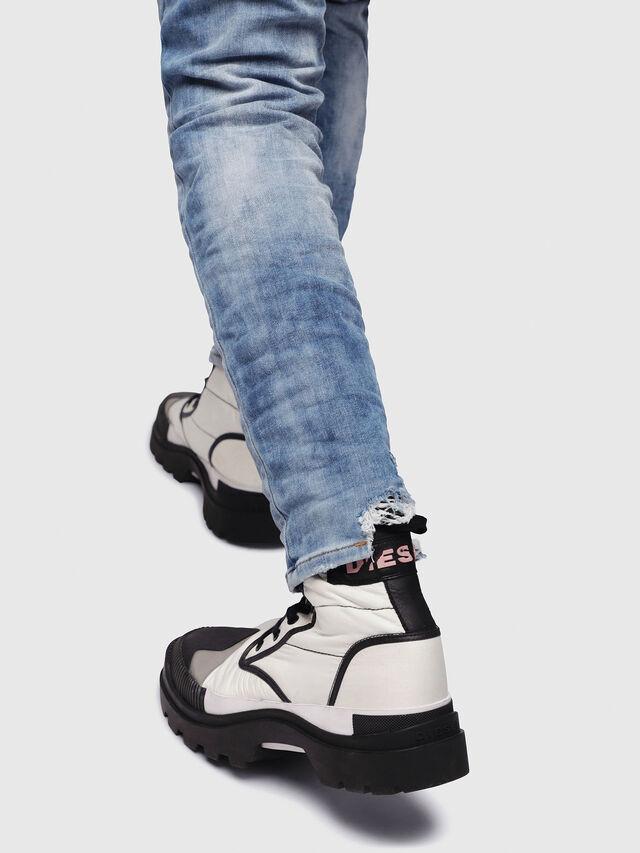 Diesel - Thommer JoggJeans 087AC, Blu medio - Jeans - Image 4
