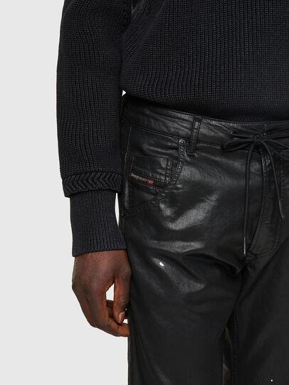 Diesel - Krooley JoggJeans® 0849R, Nero/Grigio scuro - Jeans - Image 4