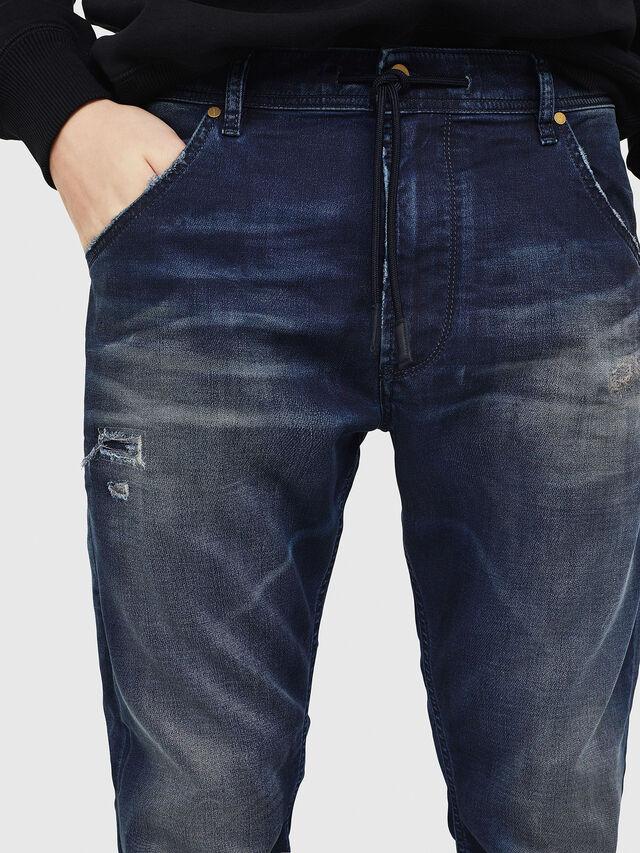 Diesel - Krooley JoggJeans 069GZ, Blu Scuro - Jeans - Image 4