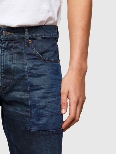 Diesel - D-Strukt JoggJeans® 069TY, Blu Scuro - Jeans - Image 4