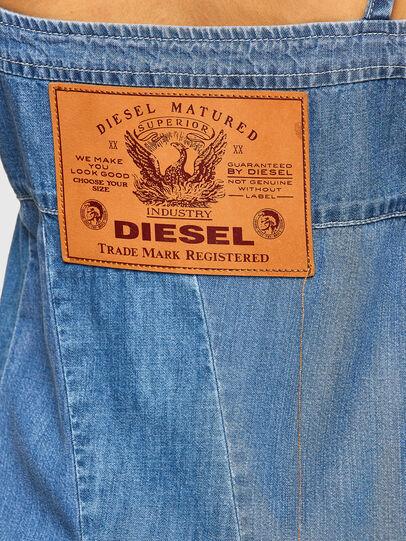 Diesel - DE-ARYA-SP, Blu medio - Vestiti - Image 3