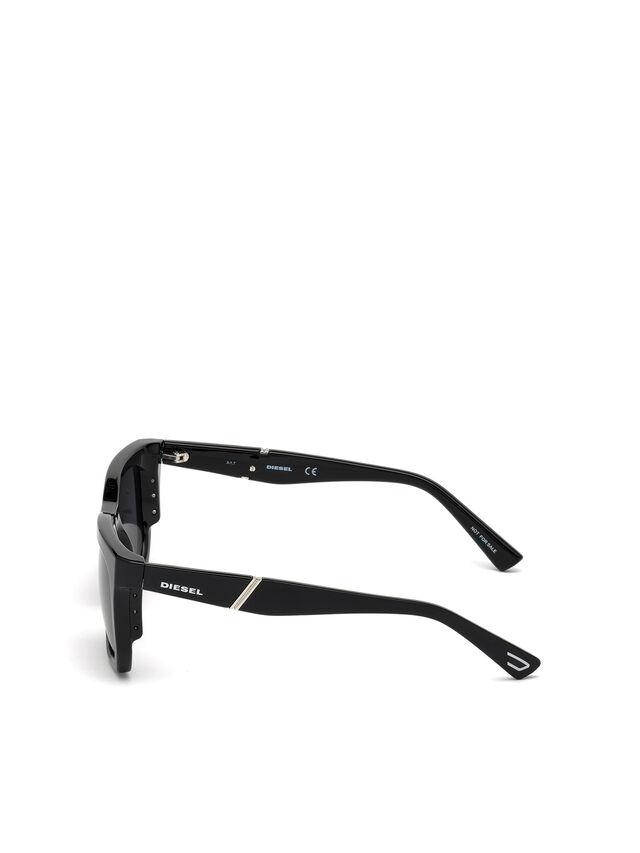 Diesel - DL0254, Nero - Occhiali da sole - Image 3