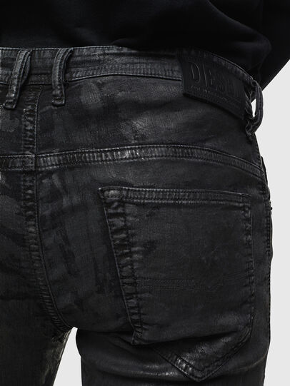 Diesel - Thommer JoggJeans 084AI, Nero/Grigio scuro - Jeans - Image 4