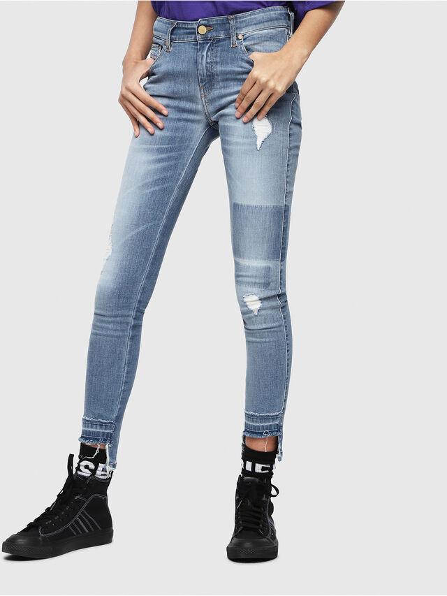 Diesel - Slandy 086AH, Blu Chiaro - Jeans - Image 1