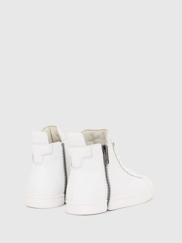 Diesel - S-NENTISH, Bianco - Sneakers - Image 3